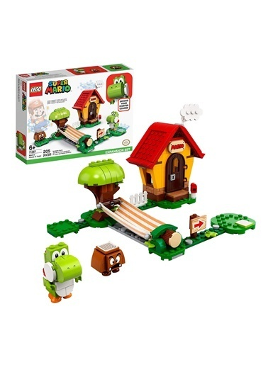 Lego Super Mario Marios House Yoshi Expansion Set 71367 Renkli